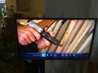 Preßluft Nietkopfhammer