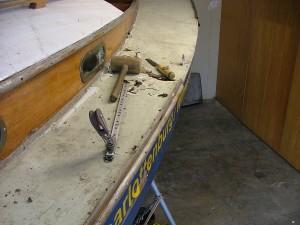 Der Plöner - Deck undicht