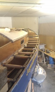 Decksplatten entfernen