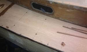 Decksplatten verschrauben
