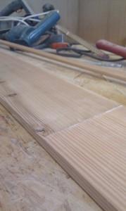 Planken verbinden und schäften