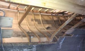 Bodenwrangen, Spanten und Planken erneuern