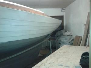 Überwasserschiff grundieren mit 1K-Grundierung