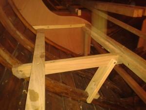 Rahmenkonstruktionsdetail